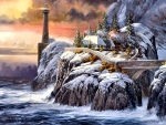 Winter Lighthouse F