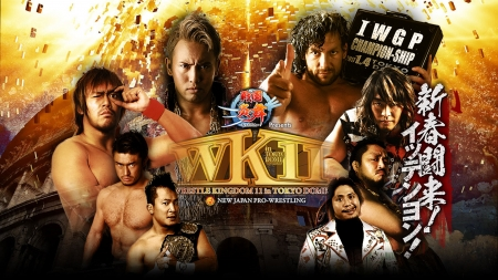 Wrestle Kingdom 11 - njpw, okada omega, wrestle kingdom, wk11