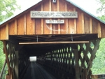 Covered bridge in North Alabama