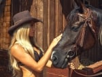 Cowgirl Touch . .