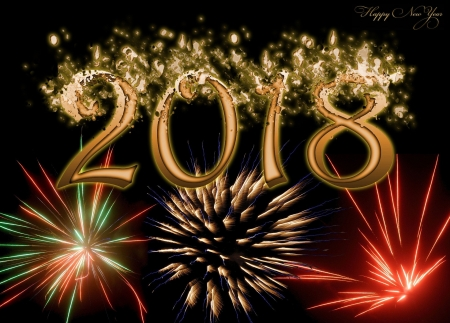 happy new year 2018 other abstract background wallpapers on desktop nexus image 2341166