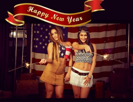 New Year . . - female, models, cowgirl, boots, fun, women, americana, brunettes, blondes, western, style, celebrate