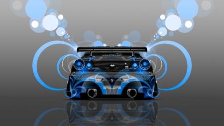 Nissan Skyline R34   Color, Car, Nissan Skyline R34, Background, R34,