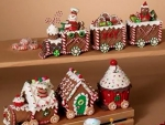 Gingerbread Trains And Houses
