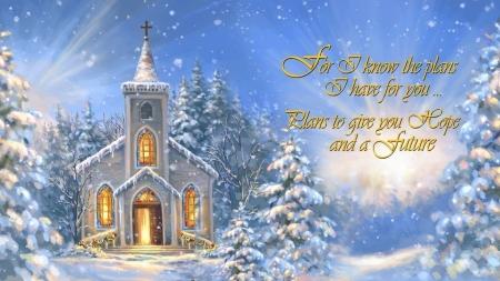 holy winter church stars christmas holidays christmas tree new year