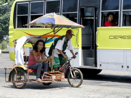 Taxi - Bicycle, Transport, Bus, Taxi, People