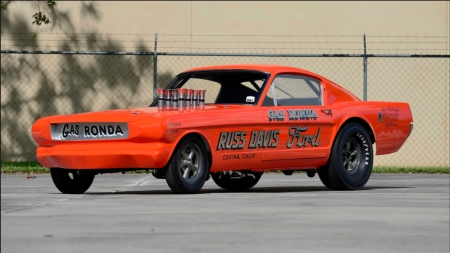 1966 Ford Mustang Gas Ronda Long Nose - 1966, Ford, Orange, Classic