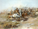 the custer fight