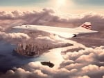 Concorde Over New York