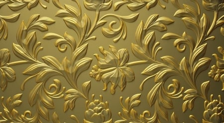 gold decoration - art, gold, photography, decoration, beauty