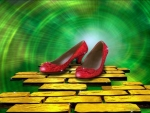 Red Ruby Shoes In Wizard Of Oz