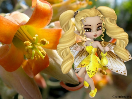 AUGUST FAIRY - AUGUST, CUTE, FAIRY, IMAGE