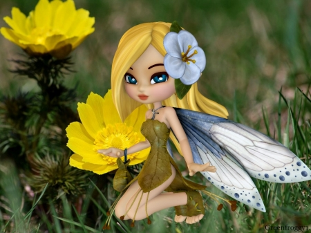 MAY FAIRY - CUTE, FAIRY, IMAGE, MAY