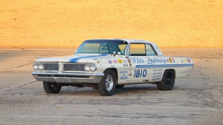1962-Pontiac-Super-Duty - Racer, Classic, GM, Muscle