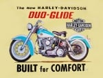 Harley Davidson Duo Glide tin sign