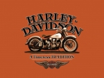 Simple Harley Davidson art
