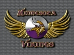 Minnesota Vikings Flying shield wings