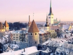 Tallinn Estonia Winter 10th Place Coldest In world