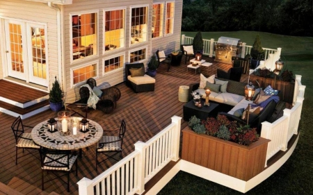 Terrace - furniture, home, house, terrace