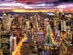 Manhattan Skyline F