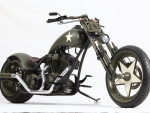 custom military chopper