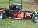 hotrod pick up truck