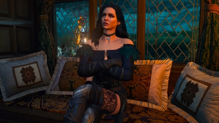 Yennefer - fantasy, luminos, girl, the witcher, yennefer, sorceress, game