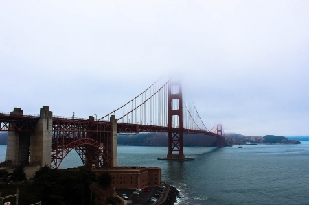 Golden Gate Bridge - USA, Bridge, Architecture, Golden Gate, San Francisco