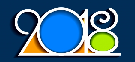 2018 - COLORS, YEAR, DESIGN, 2018