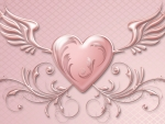 Pink Winged Valentine