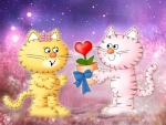 Valentine for Kitty Kats