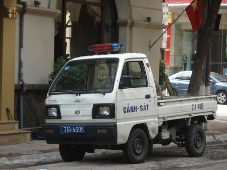 suzuki super carry - vietnamese, super, carry, police, suzuki