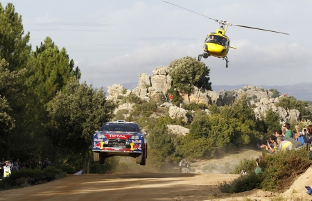 citroen ds3 rally - tree, citroen, rally, helicopter