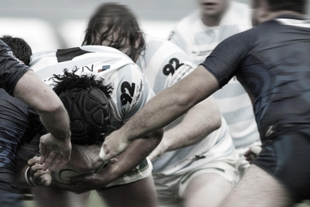 Mischia - players, winter, sport, rugby