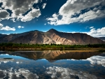 Reflection of Mountains