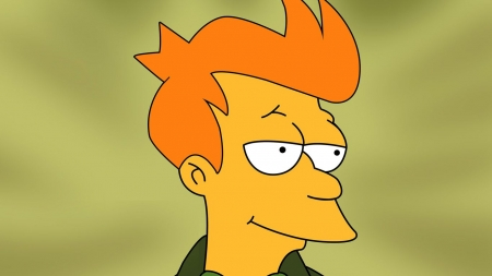 futurama - portrait, man, fry, futurama
