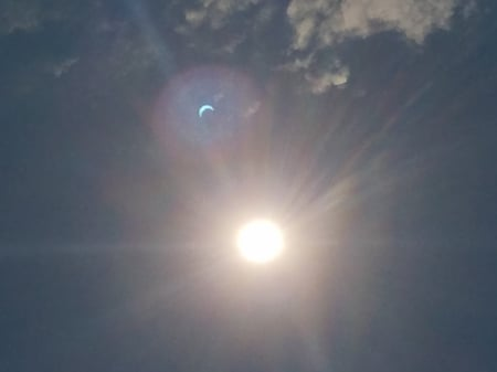 Total Eclipse of the Heart - amazing, heart, beautiful, nature, eclipse