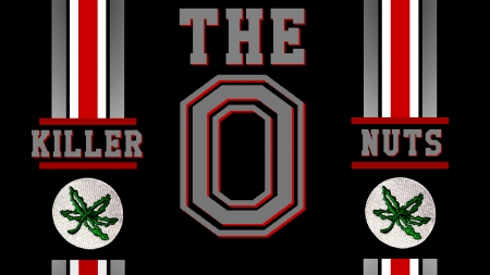 THE KILLER NUTS - STATE, FOOTBALL, OHIO, BUCKEYES
