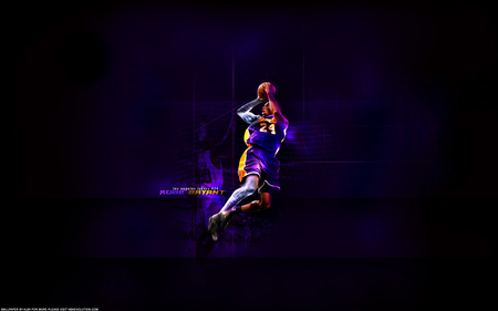 Kobe Bryant Fade Away - los angeles lakers, kobe bryant, los angeles