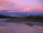 Shades of pink in Wyoming