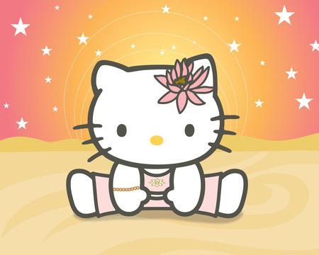 Hello Kitty Yoga - Hello Kitty u0026 Anime Background Wallpapers on
