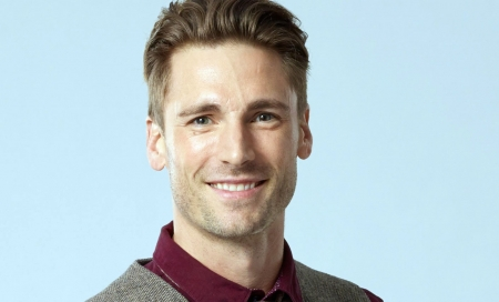 Andrew Walker - Handsome, Walker, Brunette, Man, Blue Eyes, Actor, Andrew