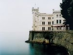 The Miramare Castle in Trieste,Italy