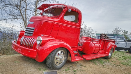 1946 Chevrolet Cabover Pickup - windows, desktop, 1946 Chevrolet Cabover Pickup, wallpaper