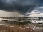 Storm above Baltic Sea