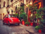 Steet in Tuscany