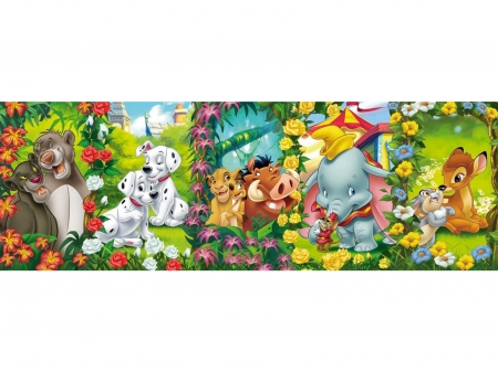 Banner of Disney - banner, bambi, bear, movies, dog, disney