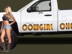 Cowgirl's Chevy . .