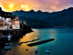 Amalfi at Dawn,Italy