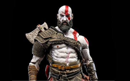 God of War 4 - games, God, kratos, video, 4k, 4, ps4, War